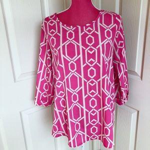 Tops - 🎀NEWBURYPORT KUSTOM🎀 pink blouse